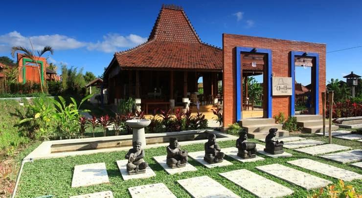 Ubud Heaven Villas Bali - Tampilan Luar