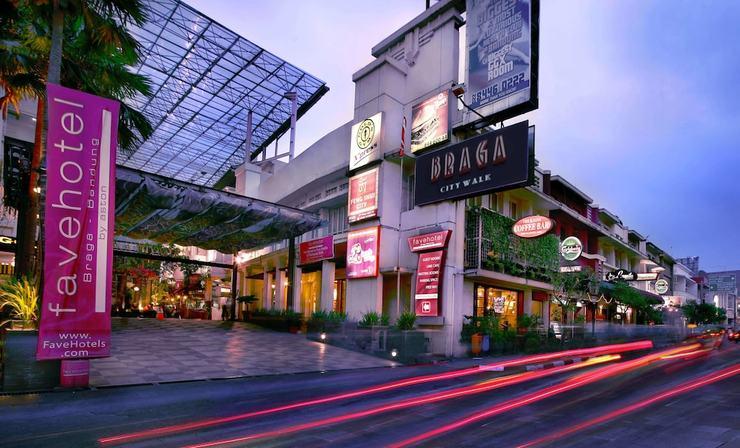 favehotel Braga Bandung Bandung - Front of Property