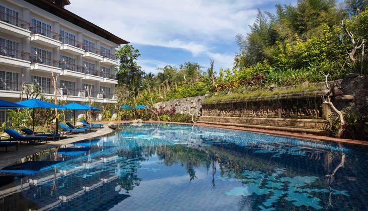 Plataran Heritage Borobudur Hotel Magelang - kolam Renang