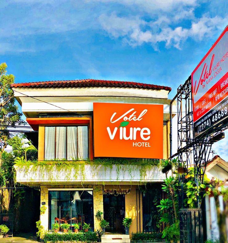 Votel Viure Hotel Yogyakarta - Facade