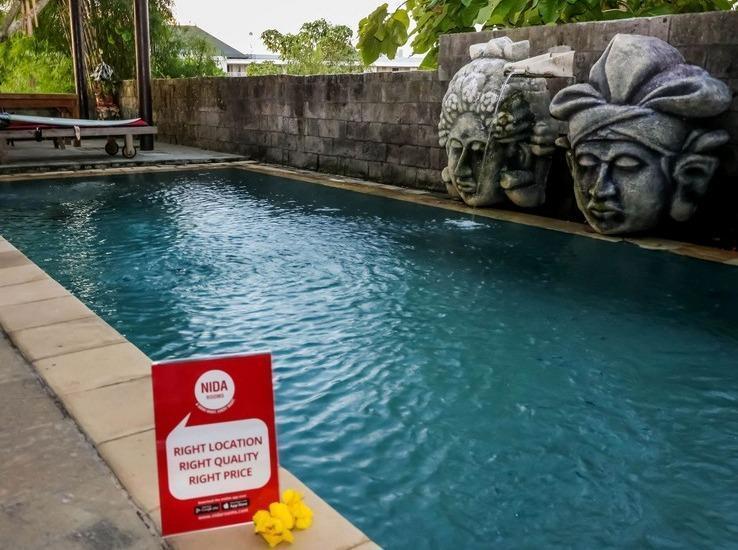NIDA Rooms Raya Ulutwatu 999 Kuta Bali - Kolam Renang