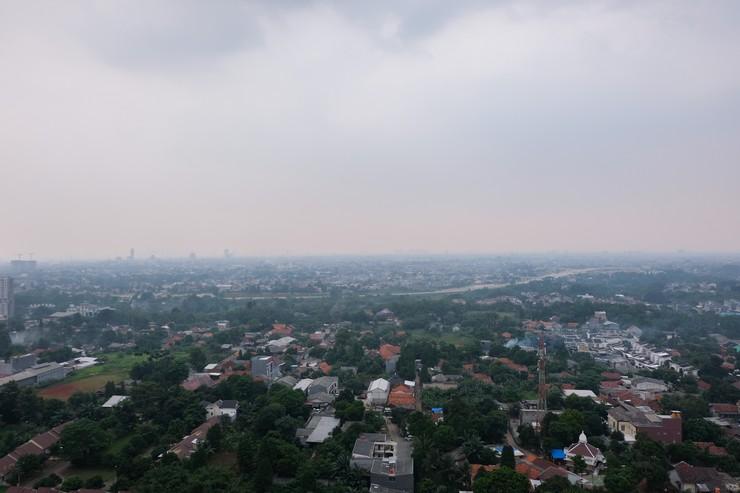 Akasa Pure Living BSD Apartment By Travelio Tangerang Selatan - Pemandangan kota