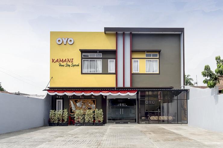 OYO 873 Kamani Homestay Syariah Medan - Facade
