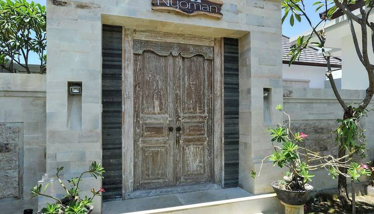 Kubu Nyoman Villas Bali - Entrance
