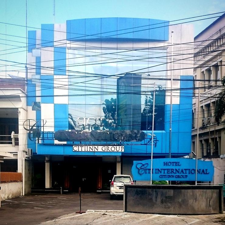 Hotel Citi International Medan - Tampilan Depan Hotel