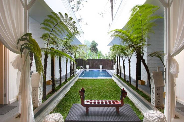 The Peak Home Boutique Hotel Bandung - Kolam Renang