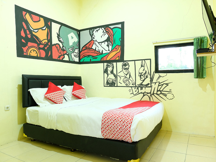 OYO 1853 Guest House D'makmoer Belitung - Standard Double 