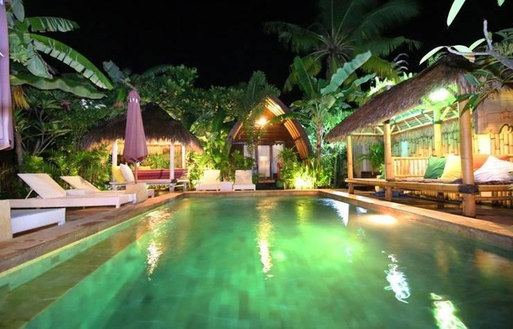 Unzipp Lumbung Gili Trawangan Lombok - Pool
