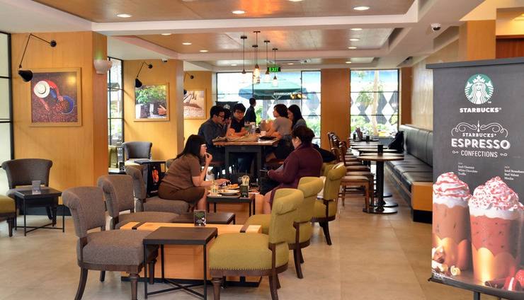 d'primahotel Melawai Jakarta - Starbucks
