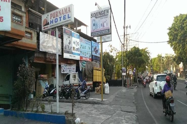 Hotel Purnama Bali - Tampilan Luar Hotel
