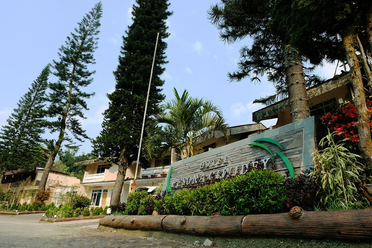 Hotel Pesona Ciwidey - taman