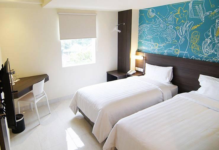 Meize Hotel Bandung - Deluxe Twin
