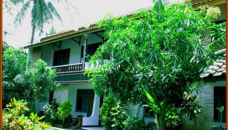 Komodo Island Hotel Pangandaran - Halaman belakang
