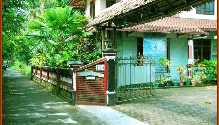 Komodo Island Hotel Pangandaran - Pintu gerbang