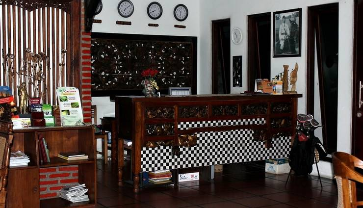 Rumah Palagan Yogyakarta - Resepsionis