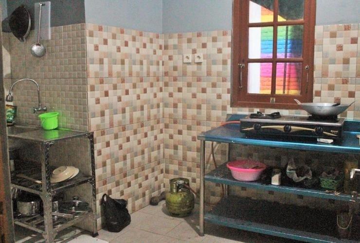 Omah Sumur Yogyakarta - kitchen