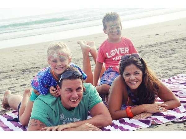 Horison Seminyak - Kegiatan keluarga di pantai