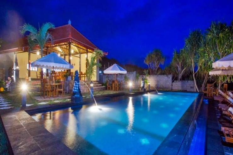Twilight Hut Lembongan - Kolam Renang
