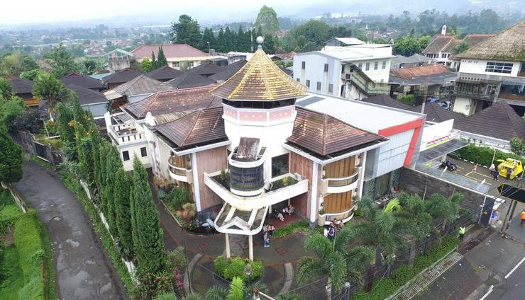 Hotel Pesona Bamboe Bandung - Gedung