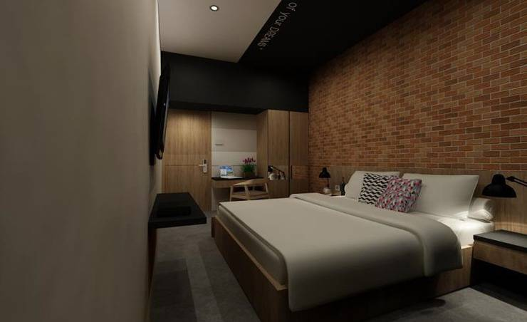 Maxley Hotel @Arjuna - Kamar tamu