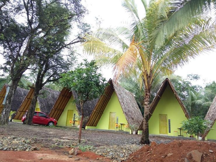 Penginapan Bunar Tunggal Tanjung Lesung Pandeglang - Facade