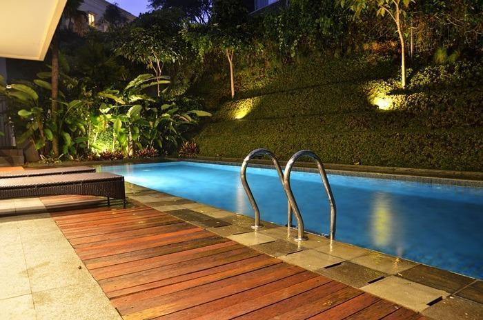 4 BR 2 Villa Dago City View Pool 2 Bandung - Swimingpool