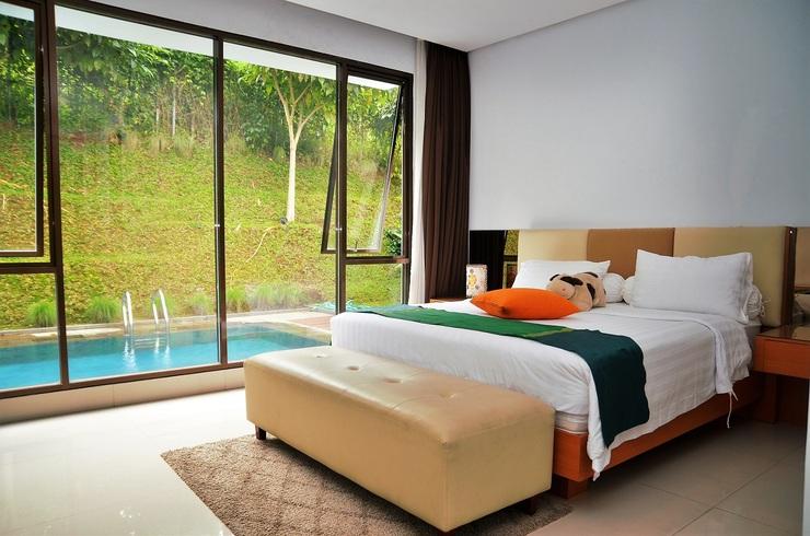 4 BR 2 Villa Dago City View Pool 2 Bandung - Kamar Tidur