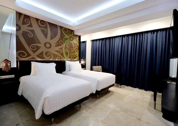 M Bahalap Hotel Palangka Raya Palangka Raya - DELUXE TWIN ROOM