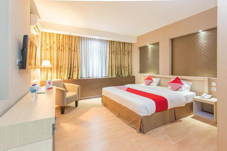 OYO 663 Hotel Sejati Balikpapan - Bedroom
