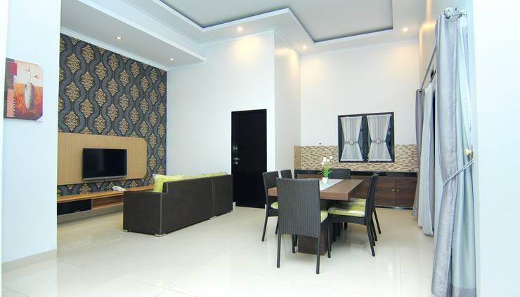 The Baliview Luxury Hotel & Resto Pekanbaru - ruang tamu