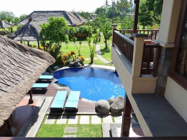 Amertha Bali Villas Bali - 4 Bedroom Garden View Pool Villa (20/June/2014)