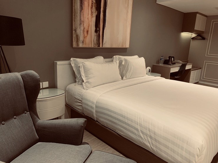 Ashley Hotel Sabang Jakarta - Bedroom