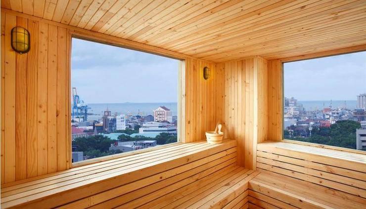 Hotel Santika Makassar - Sauna Room