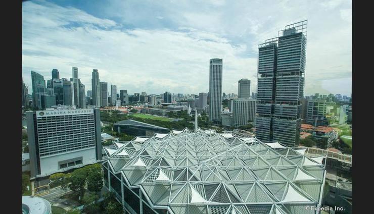 Conrad Centennial Singapore - View from Hotel