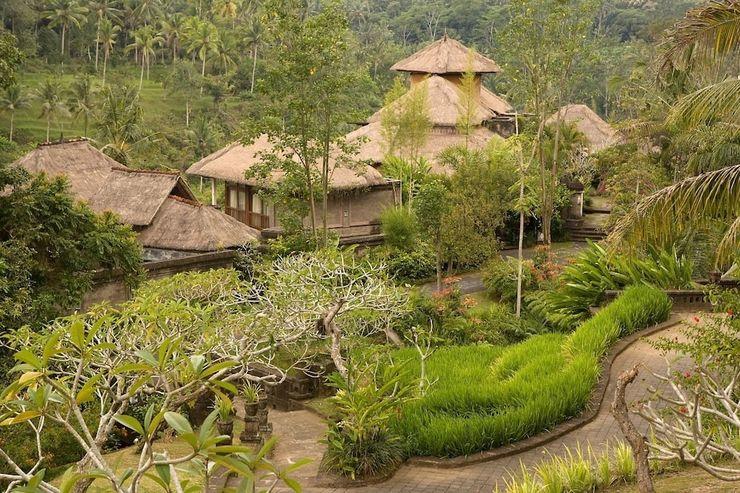 Puri Bayu Villa Bali - Land View from Property