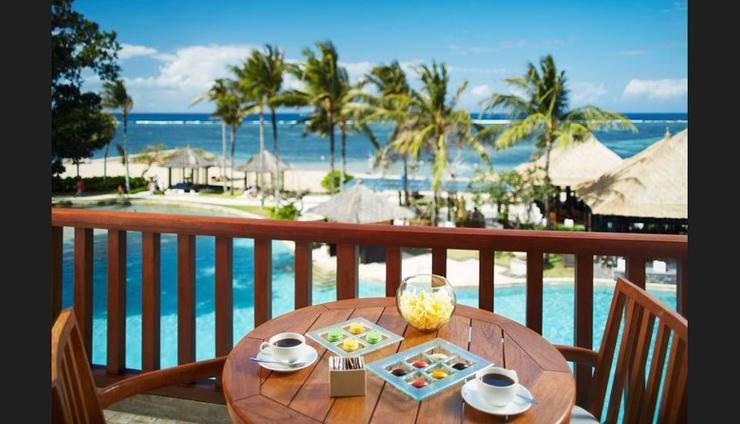 Conrad Bali - Balcony
