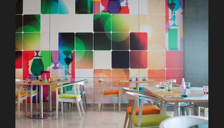 Ibis Styles Jemursari Surabaya - Breakfast Area