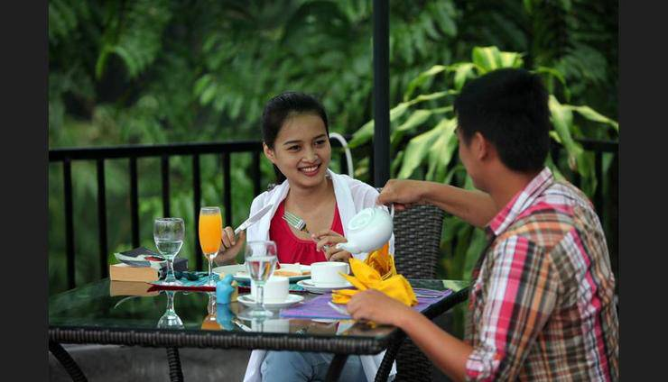 Amata Borobudur Resort Magelang - Outdoor Dining