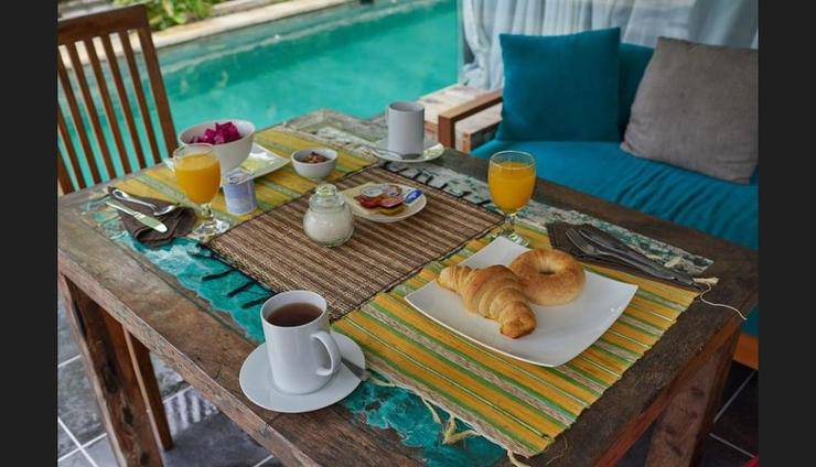 Rosalia Villa Bali - Outdoor Dining