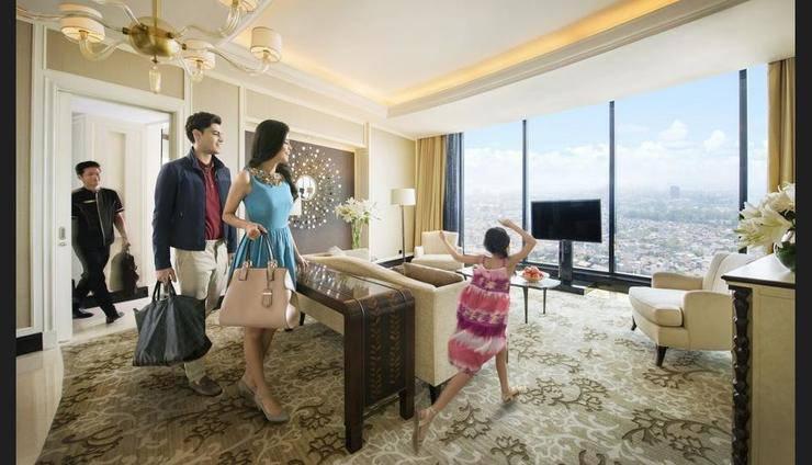 The Trans Luxury Hotel Bandung - Living Room