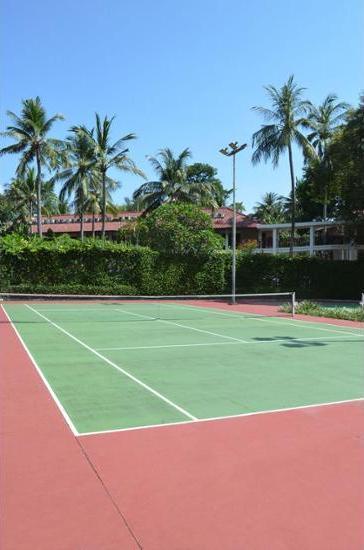 Sheraton Senggigi Beach Resort Lombok - Tennis Court