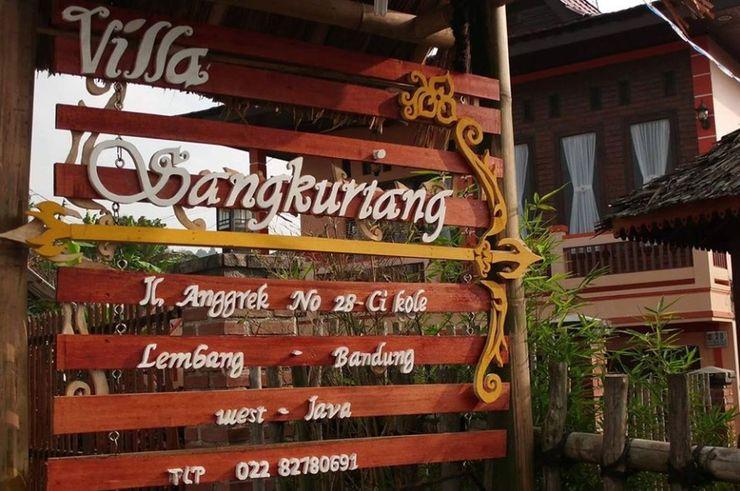 Villa Bambu 5 @ Sangkuriang Village Bandung - Exterior
