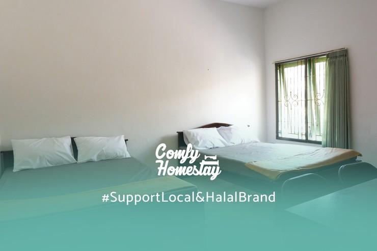 Comfy Homestay Syariah Malang - Kamar Tidur