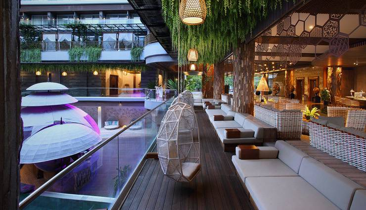 The Crystal Luxury Bay Resort Nusa Dua Bali - Crystal Lounge