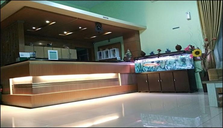 Graha Badnur Hotel Syari'ah Pekanbaru - reception