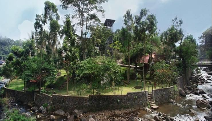 Athalia Resort Bogor - Resort View
