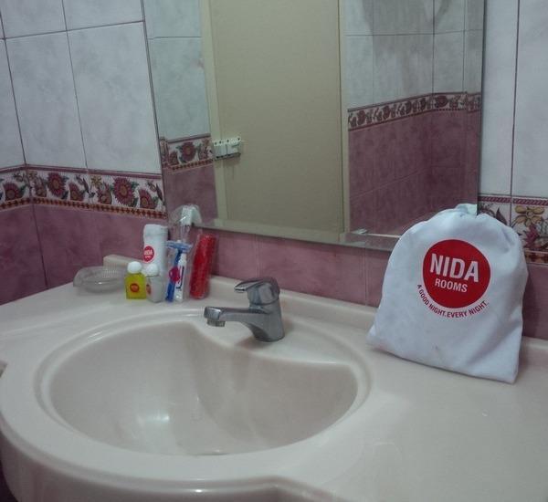 NIDA Rooms Makassar Fort Rotterdam - Kamar mandi