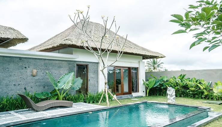 Three Gold Luxury Private Villas Bali - Facade