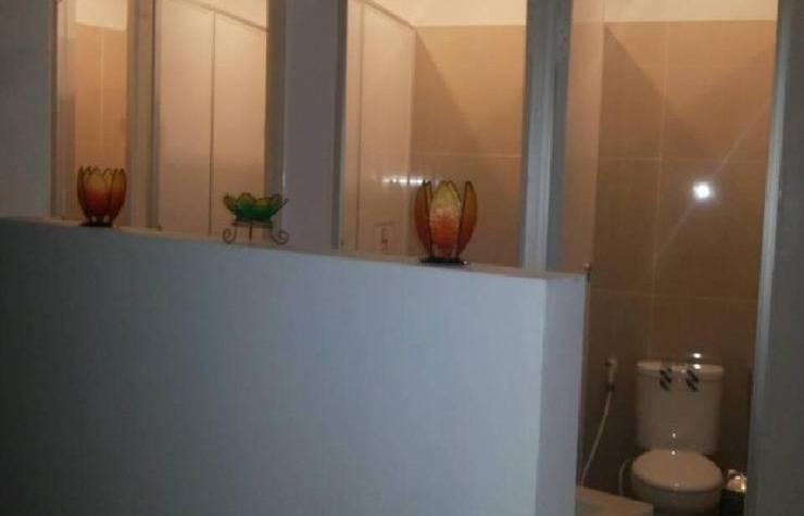 QB Sleep Capsule Hotel Bali - Kamar mandi