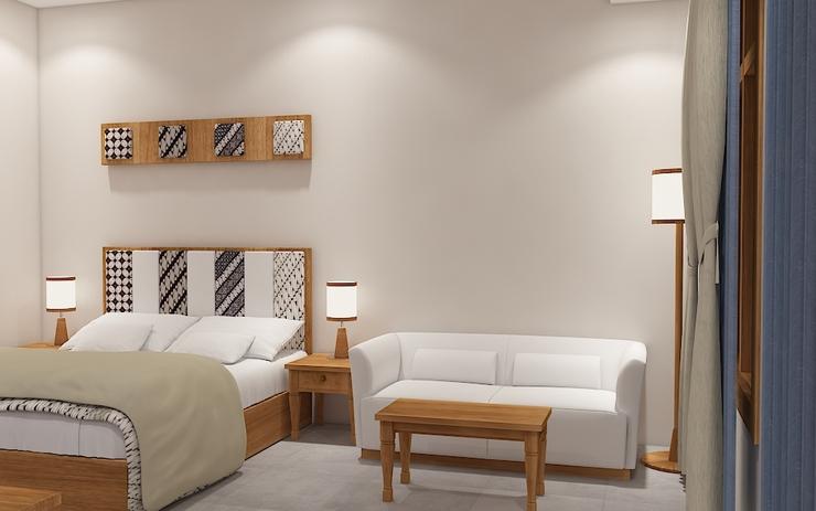 Joglo Residence Hotel Yogyakarta - Bedroom